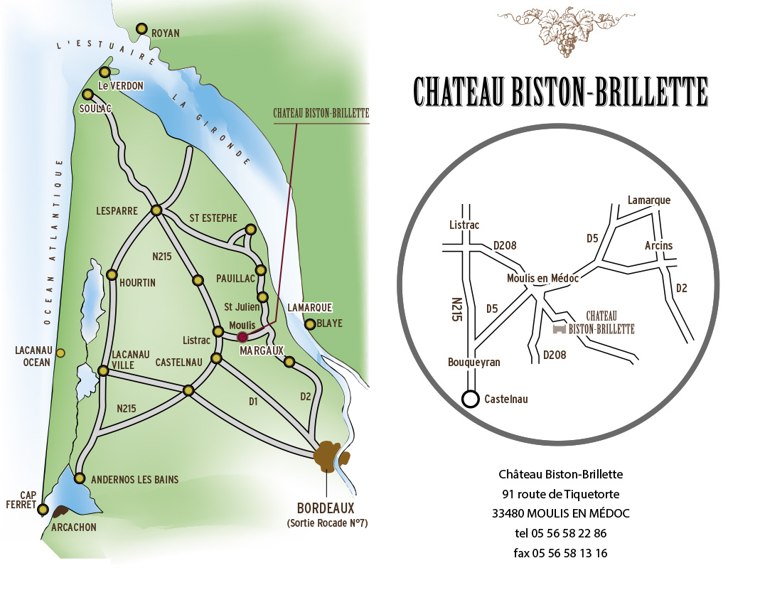 plan acces biston brillette